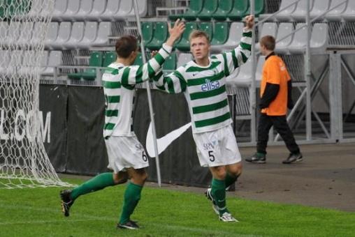 A brilliant goal you wont have seen: Siksten Kasimir (Tallinna FC Flora) v Brondby