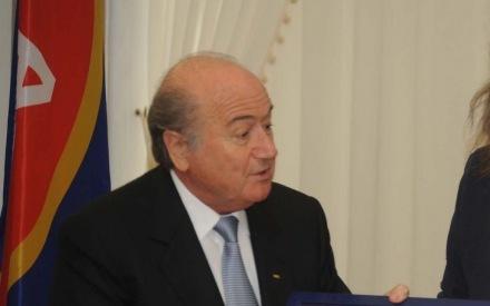 Messi parimaks valimine üllatas Blatterit