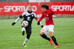 Eesti ja Soome klubid tunduvad täna platsil olema võrdsemad kui kunagi varem. Foto: Gertrud Alatare