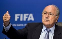 FIFA eelmine president Sepp Blatter tagandati kriisi lõpuks ametist. Foto: thesecretfootballer.com