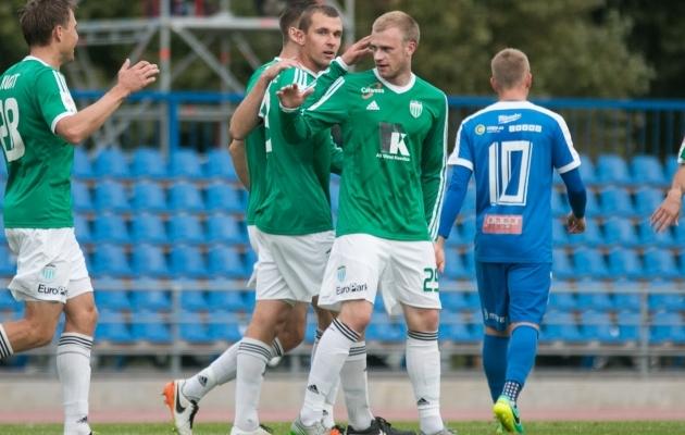Viimase omavahelise mängu võitis Levadia 4:0. Foto: Jana Pipar