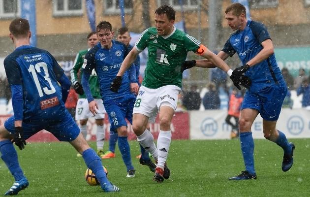 Sepa staadionil oli Levadia parem 2:0. Foto: Imre Pühvel