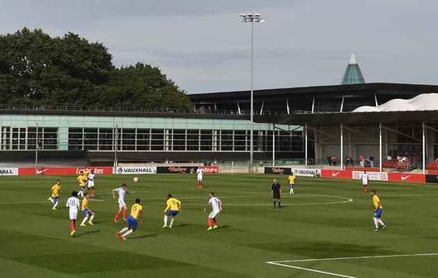 Inglismaa ja Brasiilia U20 koondiste vastasseis inglaste jaoks märgilise tähtsusega St George Parki treeningkeskuses. Foto: thefa.com