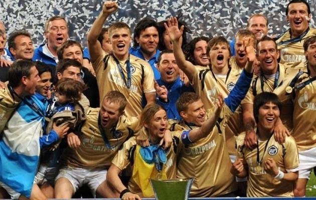Zeniti UEFA Cupi võit on jäänud Venemaa klubivuti tipphetkeks. Foto:  futbolgrad.com